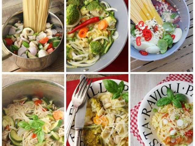 Recettes de p tes de la cuisine de francoise - Comment dessaler un plat cuisine ...