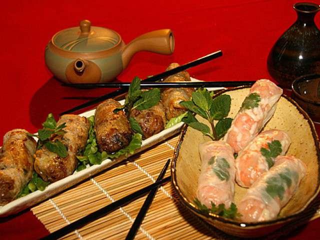 Recettes de rouleaux de printemps et chinois - Chinois pour la cuisine ...