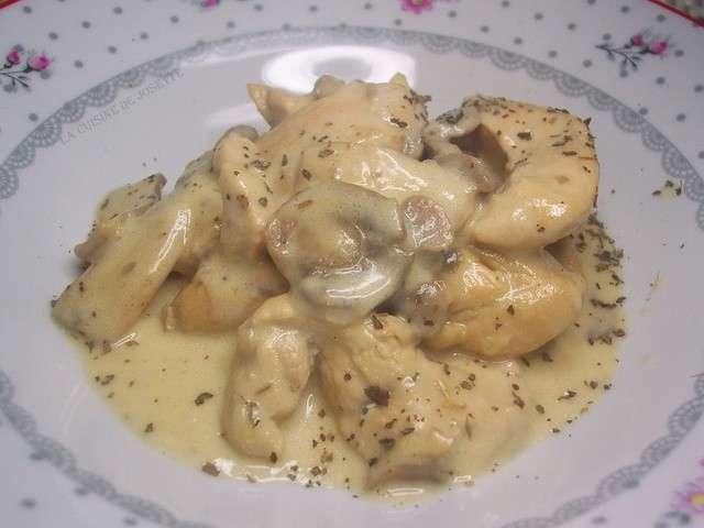 Recettes de camembert et poulet - Blanc poulet au four ...