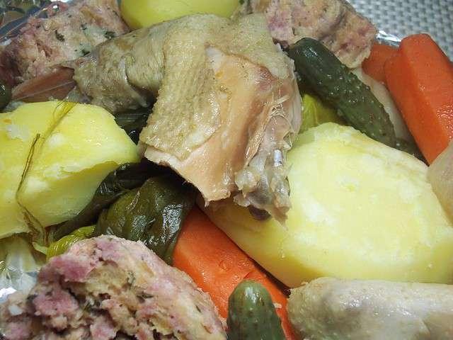 Recettes de poules de la cuisine de josette - Cuisine poule au pot ...