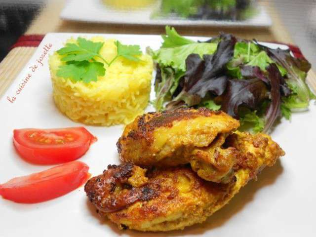 Recettes de tandoori de la cuisine de josette for Poudre de riz cuisine