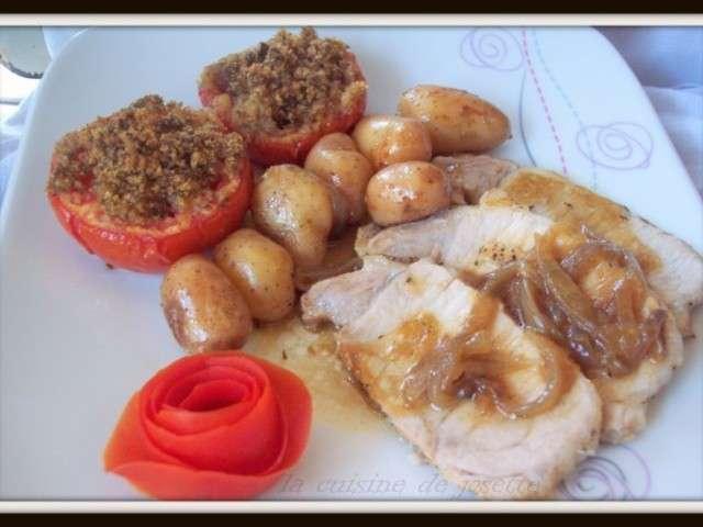 Recettes de r ti de porc de la cuisine de josette - Cuisiner roti de porc ...