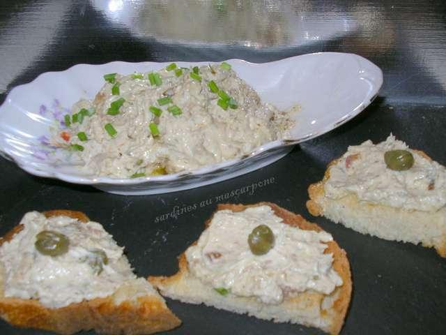 Recettes de sardines de la cuisine de josette - Cuisine au mascarpone ...