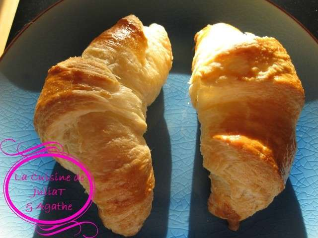 Recettes de p te feuillet e et croissants 2 - Recette soleil pate feuilletee ...