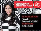 Gagnez une paire de billets pour le Salon international du design sidim 2013