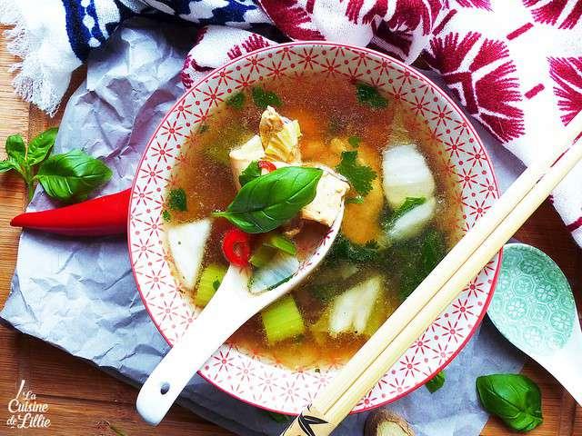 Recettes de pak cho et soupe - Blog recette de cuisine asiatique ...