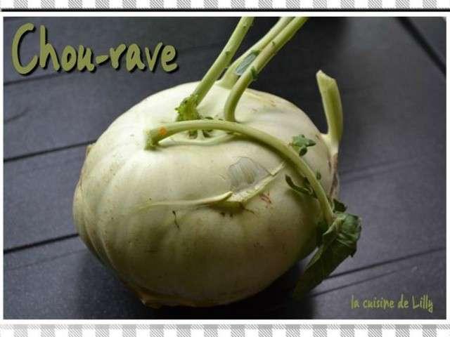 Les meilleures recettes de chou rave et salades - Cuisiner le choux rave ...