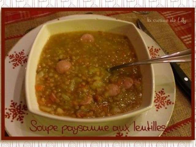Recettes de soupe paysanne 3 - Livre thermomix ma cuisine 100 facons ...