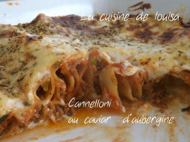 Recettes de pates italienne - Cuisine italienne cannelloni ...