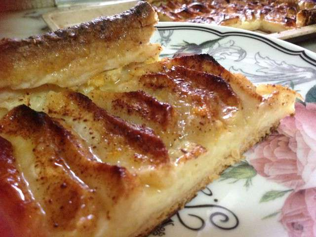 recettes de tarte aux pommes pate brisee et feuilletee. Black Bedroom Furniture Sets. Home Design Ideas