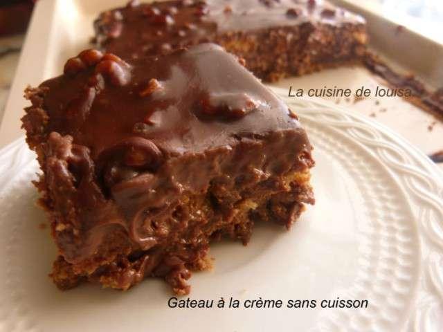 Recettes de dessert ramadan - Gateau chocolat sans cuisson ...