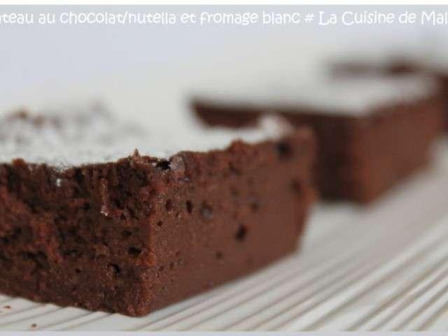 recettes de g teau au chocolat de la cuisine de malou. Black Bedroom Furniture Sets. Home Design Ideas
