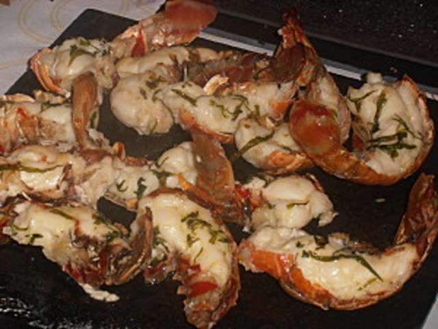 Recettes de queues et langouste 2 for Cuisine queue de langouste