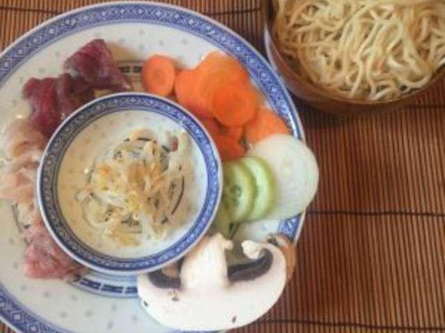 Recettes de fondue chinoise - Fondue vietnamienne cuisine asiatique ...
