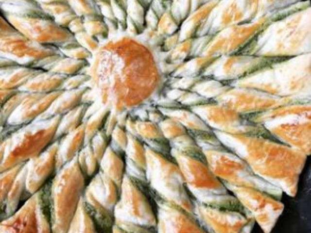 Recettes de beurre d 39 escargot et tartes - Tarte soleil sucree originale ...