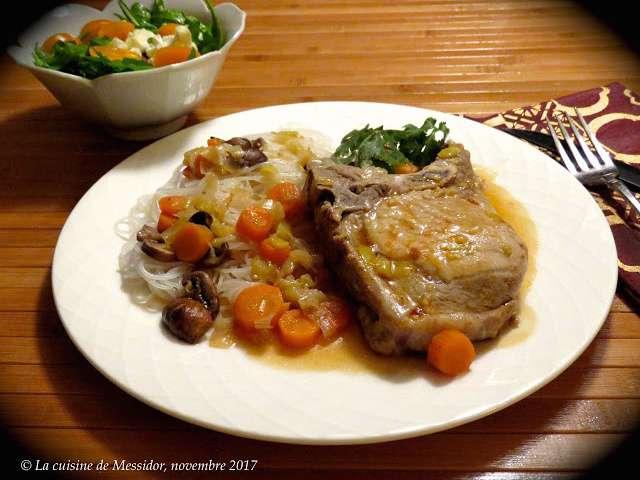 Recettes de c telettes de porc - Blog recette de cuisine asiatique ...