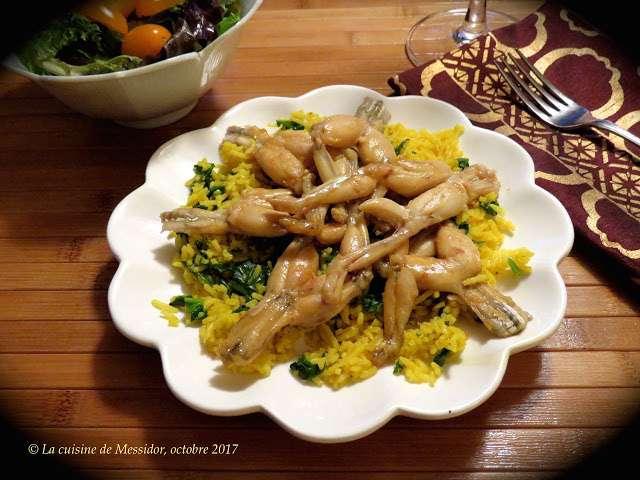 Recettes de grenouilles for L officiel de la cuisine