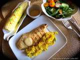 Escalopes de poulet bbq express