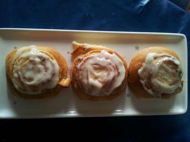 Recettes de cinnamon rolls de la cuisine de mimi - Blog mimi cuisine ...