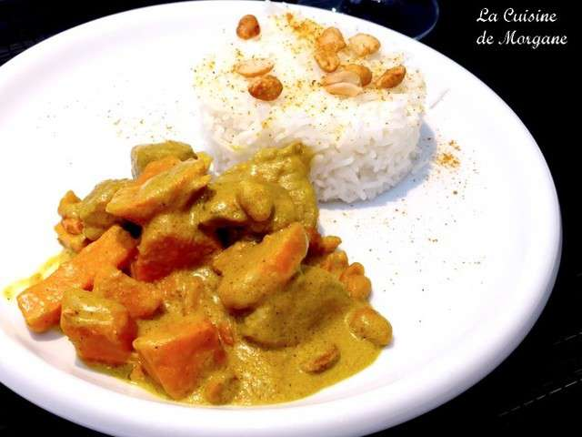 Recettes de curry de porc de la cuisine de morgane for La cuisine de morgane