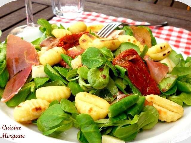 Les meilleures recettes de salade de gnocchi - Cuisiner des gnocchis ...