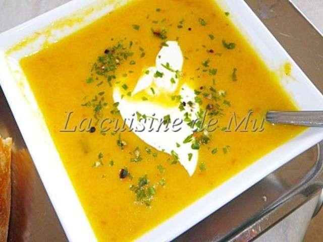 Les meilleures recettes de velout et butternut - Soupe butternut thermomix ...