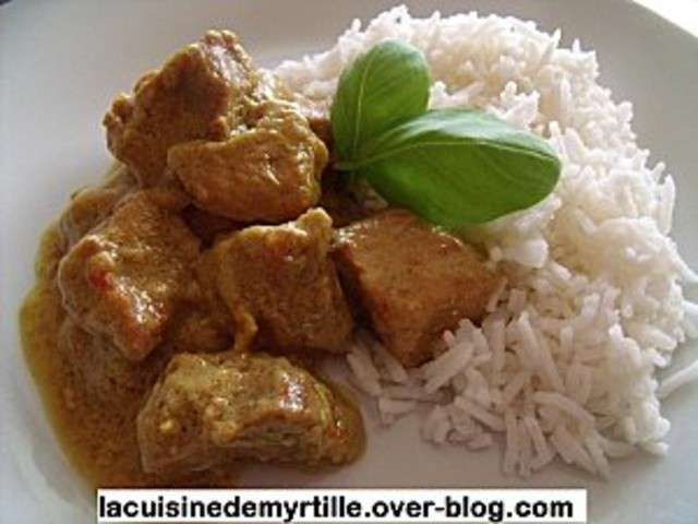 recettes de porc et porc au curry 5. Black Bedroom Furniture Sets. Home Design Ideas