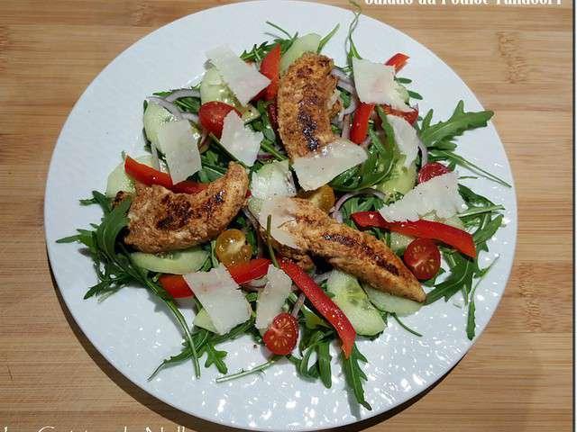 recettes de poulet tandoori et salades. Black Bedroom Furniture Sets. Home Design Ideas