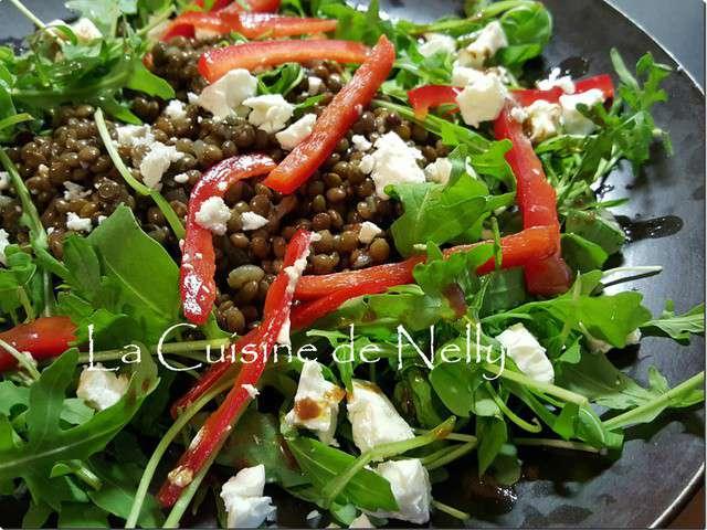 Recettes de salade de lentilles et poivrons for Eliminer les vers des salades