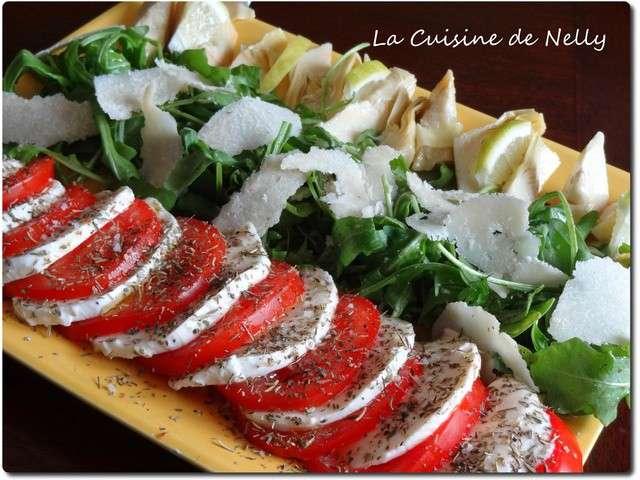 Les meilleures recettes de salade italienne - Cuisine italienne recette ...