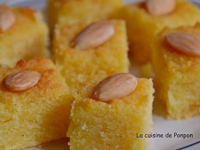 Recettes d 39 amande de la cuisine de ponpon rapide et facile for Amour de cuisine basboussa