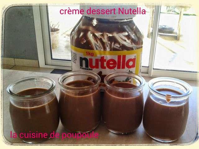 Recettes de cr me dessert et thermomix - Recette dessert rapide thermomix ...