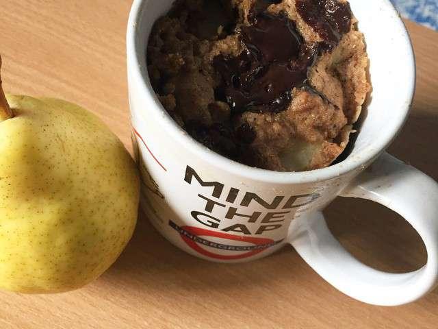 Recettes de mug cake et poire - Cuisine sans matiere grasse ...