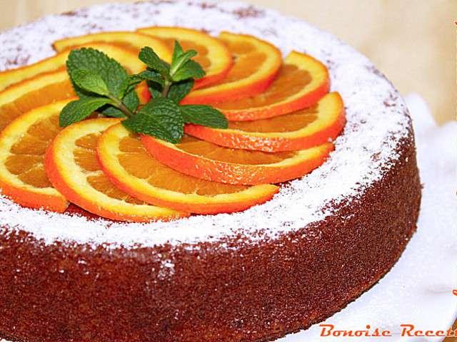 Recettes de g teau l 39 orange de art de cuisine de sihem for Art de cuisine de sihem