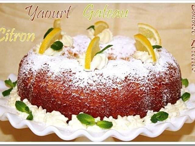 Recettes de g teau au yaourt de art de cuisine de sihem for Amour de cuisine de sihem