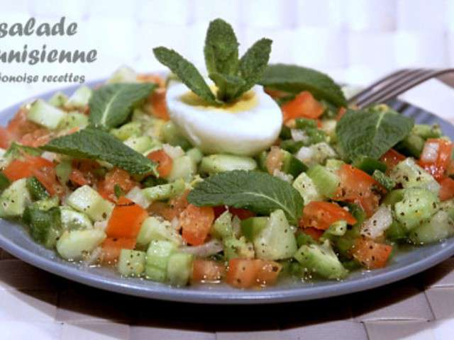 Recettes de salades de art de cuisine de sihem for Amour de cuisine de sihem