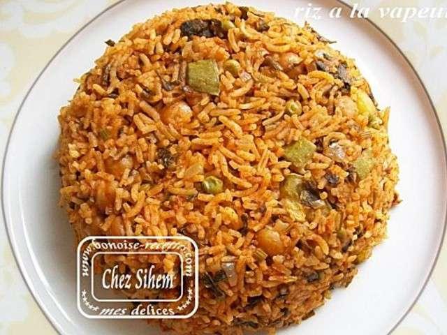 Recettes de riz de art de cuisine de sihem for Art de cuisine de sihem