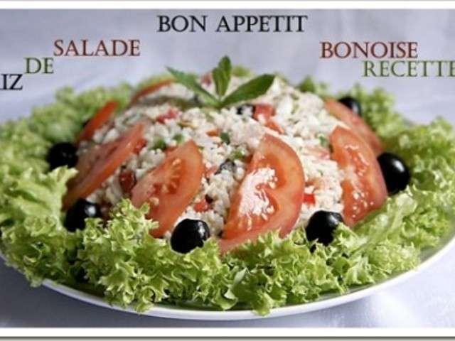 Salade facile riz et for Amour de cuisine de sihem