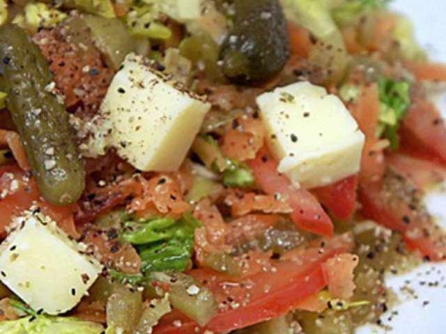Recettes de salade vari e de art de cuisine de sihem for Art de cuisine de sihem