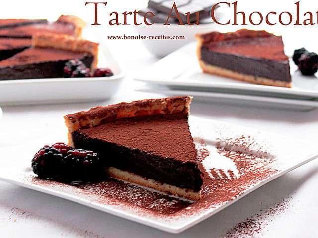 Recettes de art de cuisine de sihem de a z 43 - Tarte aux chocolat facile ...