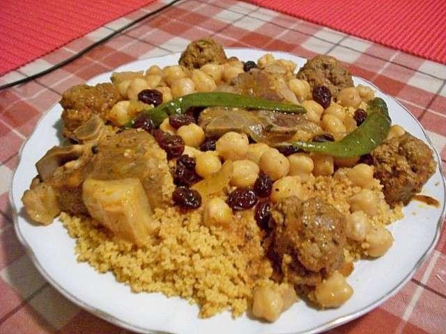 Recettes de couscous tunisien de la cuisine de souska - Recette cuisine couscous tunisien ...