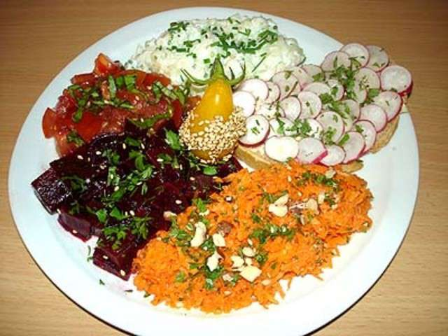 Les meilleures recettes de concombre et radis - Assiette de cuisine ...