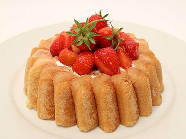 Recettes de tutti frutti - Jeux de charlotte aux fraises cuisine gateaux ...