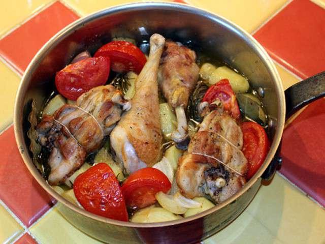 Recettes de cuisse de poulet et poulet 6 - Cuisse de poulet au four ...