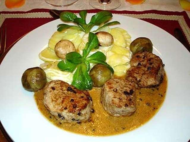Recettes de filet mignon de veau de la cuisine des jours - Cuisine filet mignon de porc ...