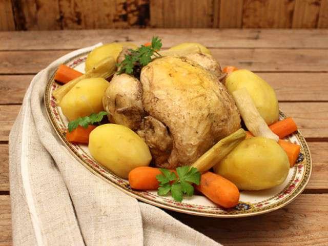 Recettes de fonds de la cuisine des jours - Cuisine poule au pot ...