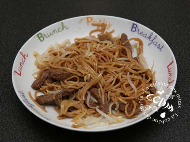 Les meilleures recettes de b uf et nouilles - Cuisiner des pates chinoises ...
