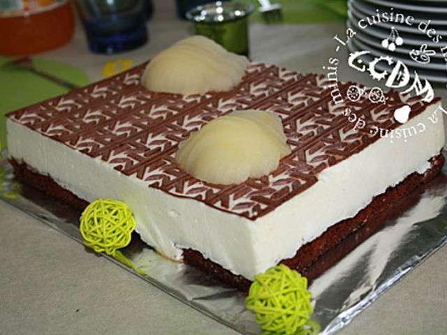 Recette gateau poire chocolat flexipan