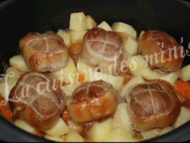 Les meilleures recettes de veau et paupiettes de veau - Cuisine paupiette de veau ...