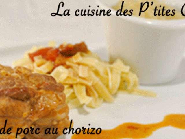 Recettes de paupiettes et chorizo - Recette paupiette porc ...